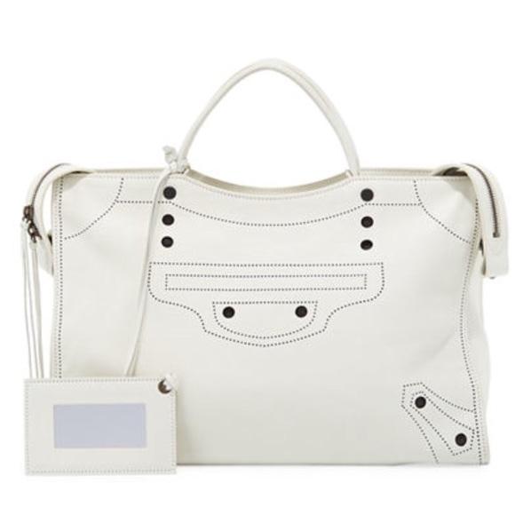 0dbf4e5d792e Balenciaga Bags   New Sale Blackout Satchel Bag   Poshmark